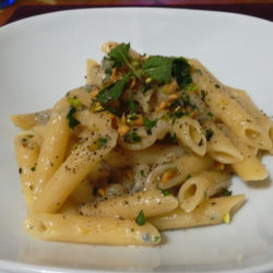 Penne Con Pere e Gorgonzola