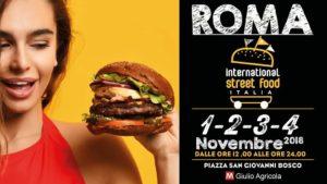 evento Roma international street food