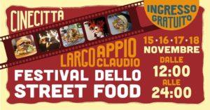 evento Festival street food Cinecittà