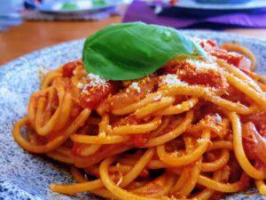 Spaghetti con nduja