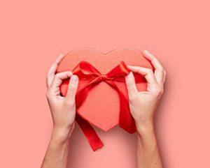banner pubblicitario Amazon San Valentino