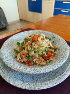 Spaghetti ragi di triglia
