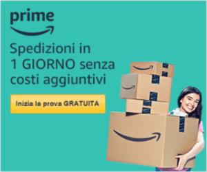 banner pubblicitario Amazon Prime